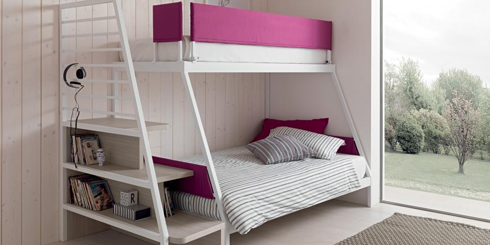 Zona notte camerette per bambini mobili martinelli for Mobili zona notte