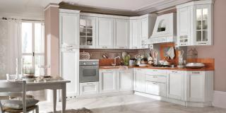 Cucina Alba Laccato Bianco