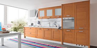 Cucina Quadra Ciliegio con Telaio